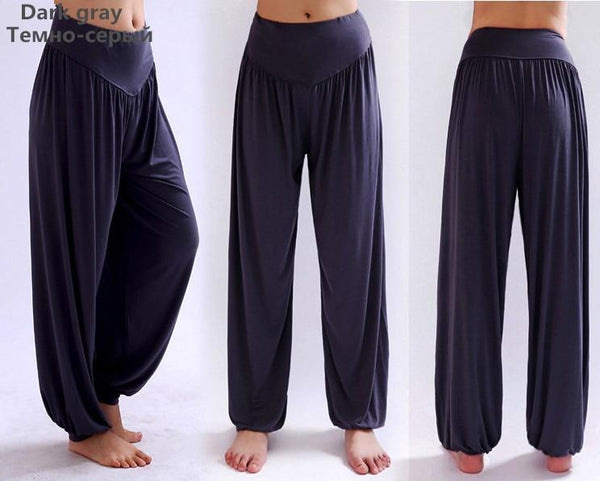 Wide Leg Harem Pants leggings