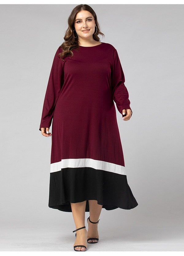Winter Long Sleeve Loose Dress dress
