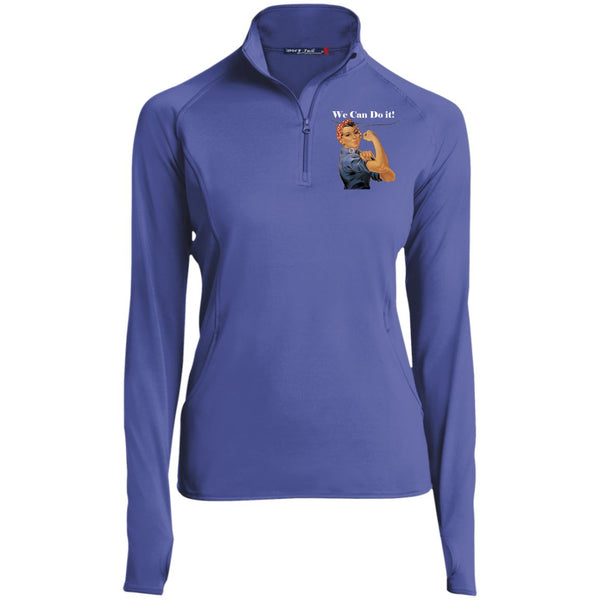 Women's Vintage 1/2 Zip Performance Pullover Pullover Iris Purple X-Small