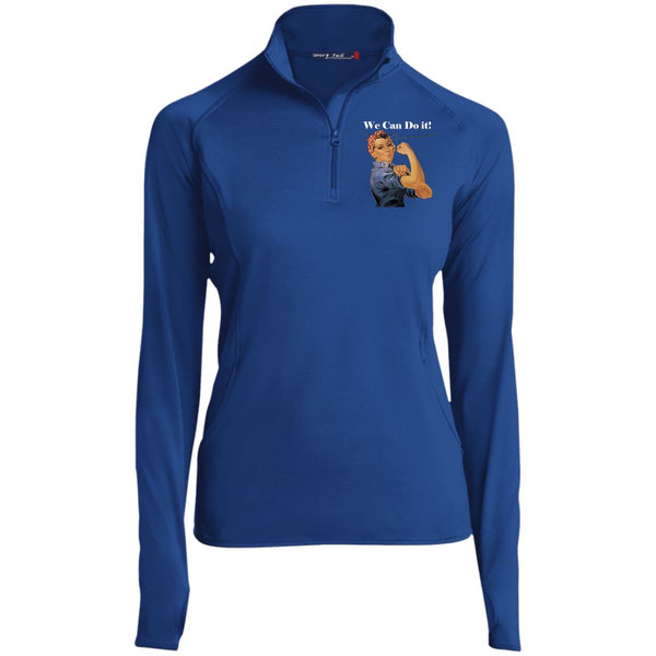 Women's Vintage 1/2 Zip Performance Pullover Pullover True Royal X-Small