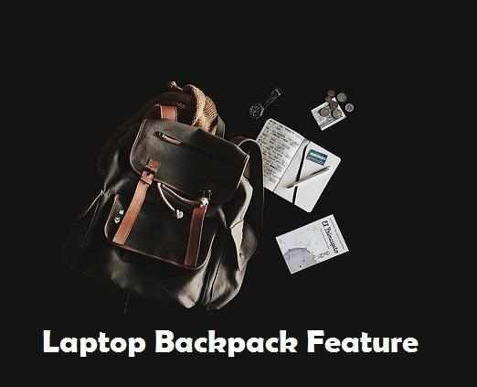 5 Core Laptop Backpack features