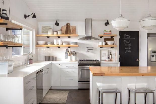 Why Open shelving is ideal for your kitchen