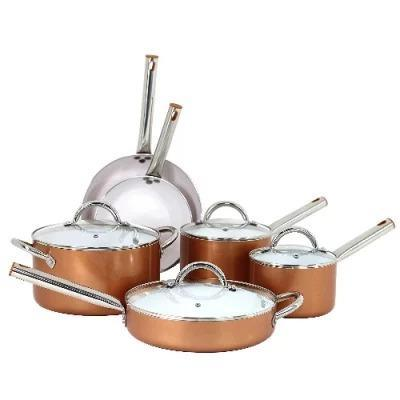 10 pcs Ceramic Non-stick Cookware Set