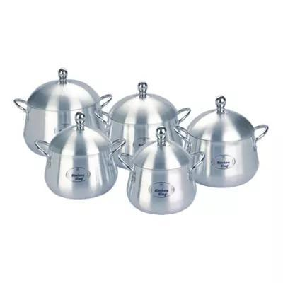 10 pcs Kitchen King Belly Pot Set