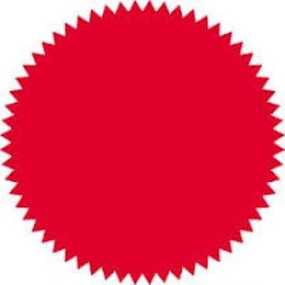 100 pcs Red Legal Seal- Big