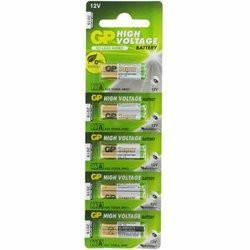 12V - 23a Alkaline Battery - 5 Pieces