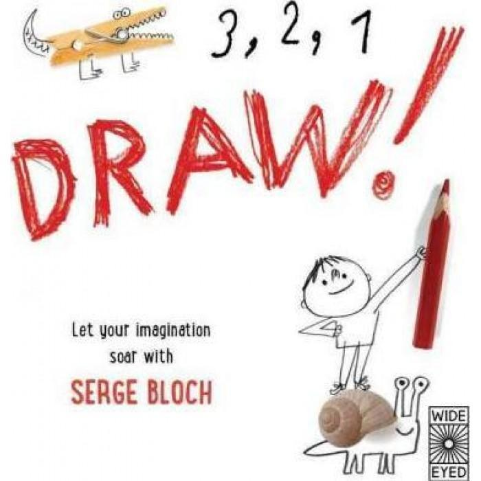 3 ,2 ,1 Draw! creativity book for kids