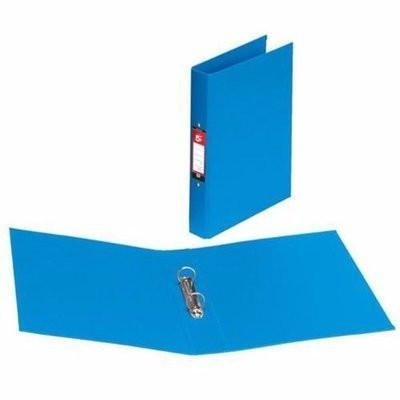 A4 Plastic Ring Binder - 25mm blue