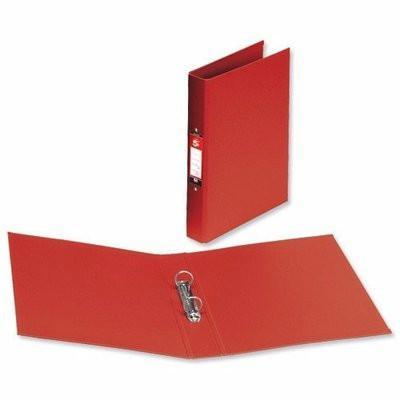 A4 Plastic Ring Binder - 25mm Red