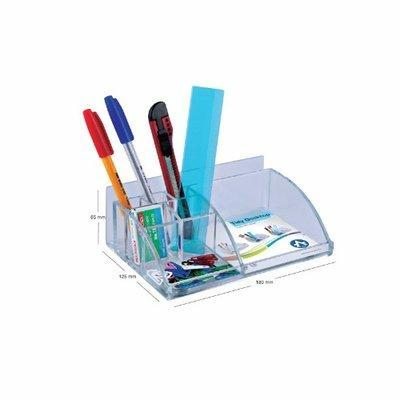 Acrylic Tidy Desktop Organizer - 7x5 inches