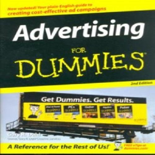 Advertising For Dummies, Paper Cover by Gary R. Dahl