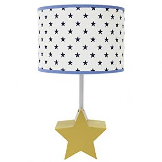 Baby Peanutshell Stargazer Lamp with Shade