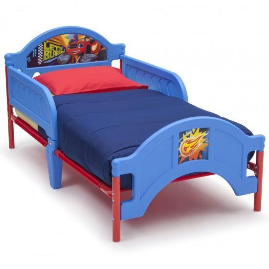 Blaze Toddler Bed With Free Mattress