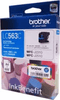Brother LC 563C Cyan Ink Cartridge