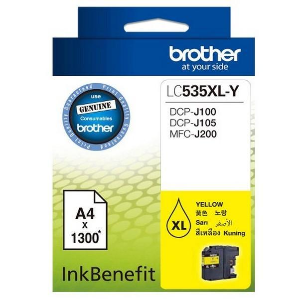 Brother LC535XLY Ink Cartridge - Yellow
