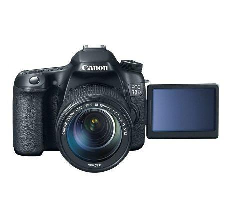 Canon EOS 70D Camera with 18-135mm STM Lens