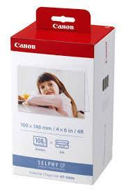 "Canon Selphy Photo Paper Set 4"" x 6"""