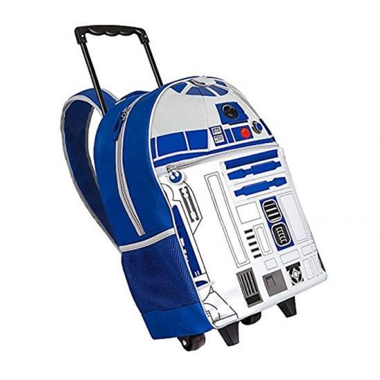 Disney Star Wars R2D2 20inch Rolling Backpack
