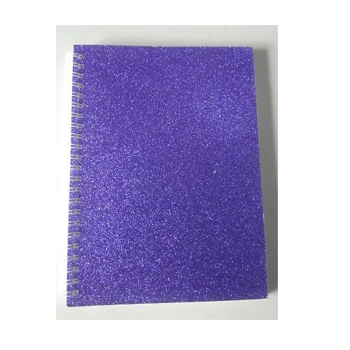Fancy Glitter Notebook - A5 Size