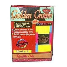 Golden Crown universal Refill Ink - Colour