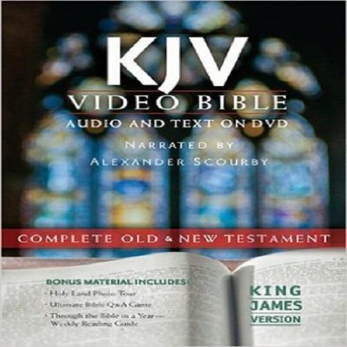 Holy Bible: KJV, Video Bible, Old & New Testament DVD-ROM by Alexander Scourby