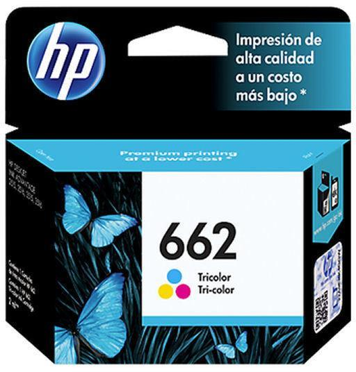 HP INKJET CARTRIDGE 662 TRI COLOUR