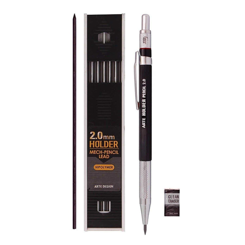 Lead Holder Mechanical Pencil for Draft Drawing