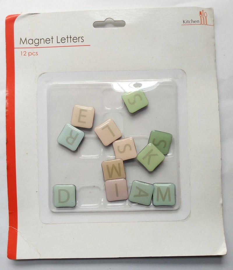 Letters Word Fridge Magnet