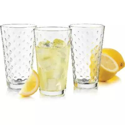 Libby Glass 8 piece Dots Cooler Set