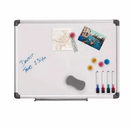 Magnetic white marker board + Accessories 4x4