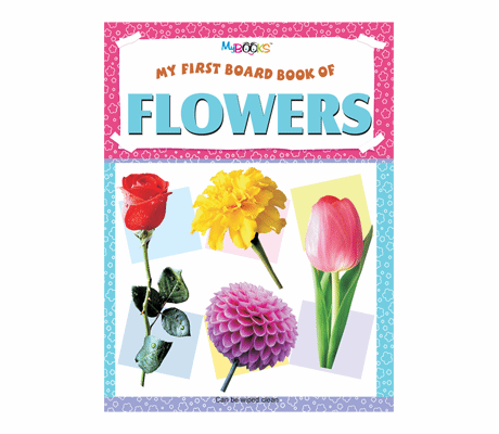 My first board book of flowers - Bundle of 2