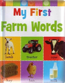 MY FIRST FARM WORDS by Make Believe by 5