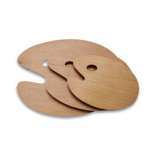 Oval Wooden Palette Small