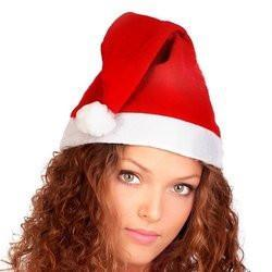 Santa Christmas Hat- Adult Size