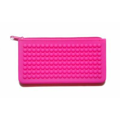 Silicon Pencil Case - Pink