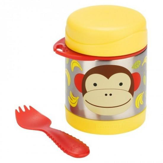 Skip Hop Insulated Food Jar, Monkey