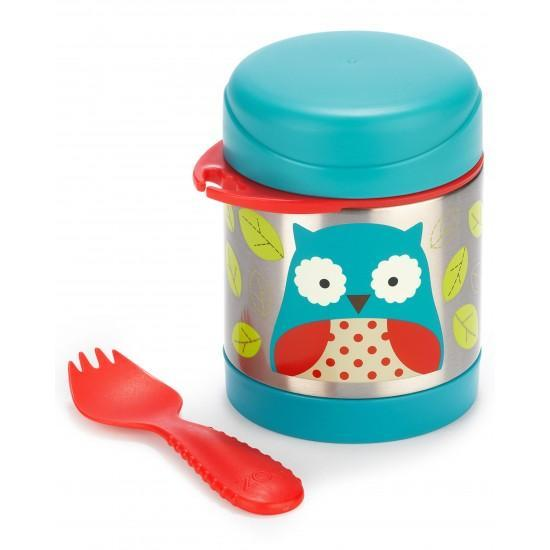 Skip Hop Insulated Food Jar, Owl