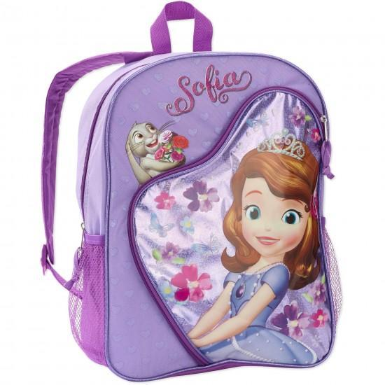 Sofia The First Heart Shaped 16inches Backpack