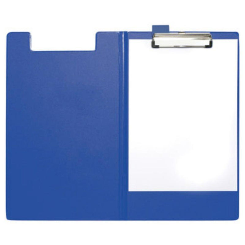 Soft Cover Clipboard File A4 Size - Blue