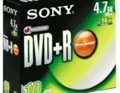 SONY DVD + RW - Pieces