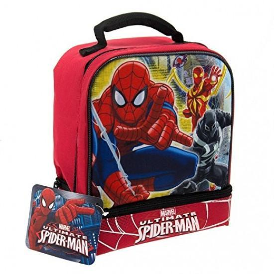 Spider-Man Double Compartment Lunchbag