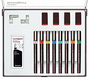 Technical Drawing Pen Set of 8