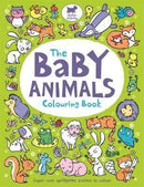 The Baby Animals Colouring Book - Bundle of 2