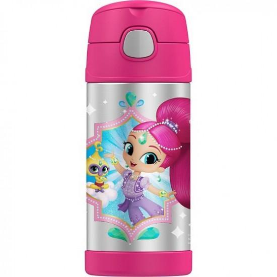 Thermos 12oz Funtainer Bottle, Shimmer and Shine