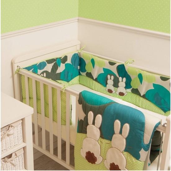 Tots By Smartrike Crib Bedding Set