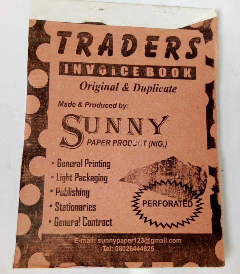 Traders Invoice Booklet