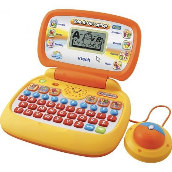 Vtech Tote and Go Laptop with Web Connect, Orange