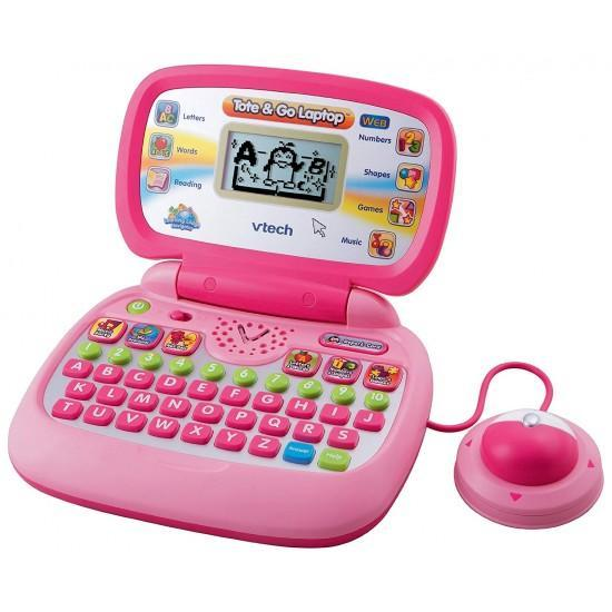 Vtech Tote and Go Laptop with Web Connect, Pink