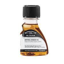 Winsor & Newton Drying Linseed Oil- 75ml