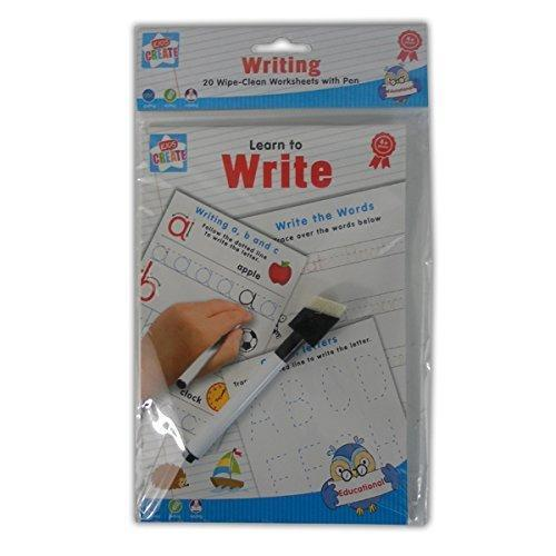 Wipe Clean Worksheets With Pen